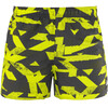adidas Graphic Swim Shorts Men utility black semi solar yellow